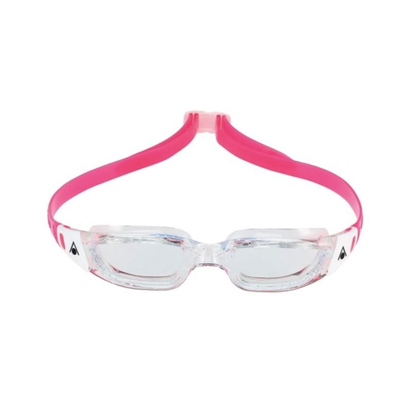 KAMELEON JR CLEAR-WHITE, Очила за плуване